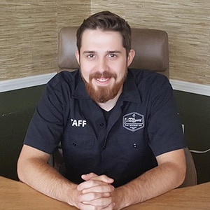 Ryan Odelius, Vape Specialist